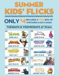 Grand Theater Summer Kids' Flicks