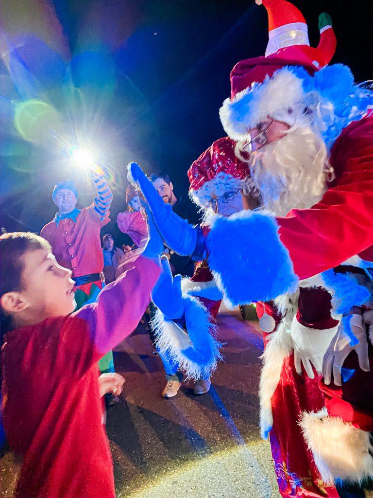 Golf Cart Santa, You are Magic
