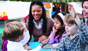 child behavior specialists and teachers