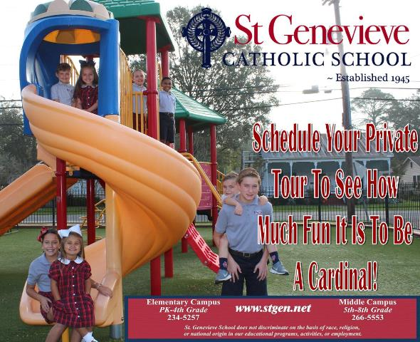 St. Genevieve Catholic School in Lafayette Louisiana