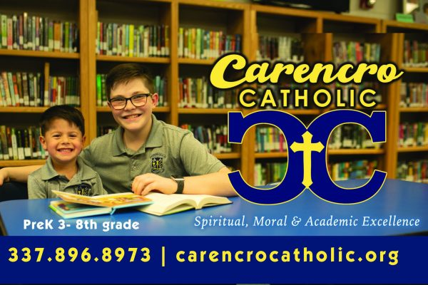 Catholic School Options in Lafayette Louisiana.