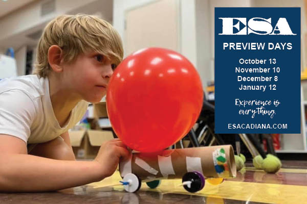 Preview tours and admissions for ESA