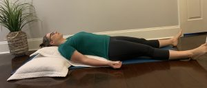 Supported Relaxation Pose