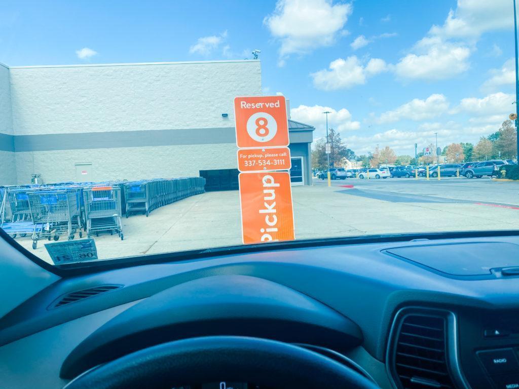 Walmat Grocery Pickup
