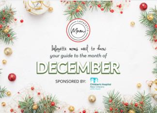 December events in Lafayette Louisiana