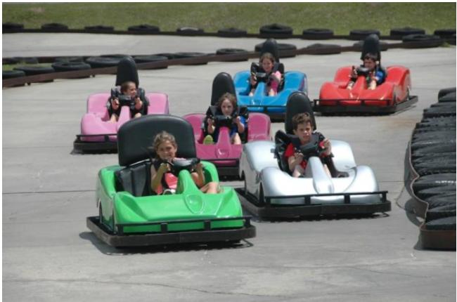 Go Kart Party in Lafayette Louisiana