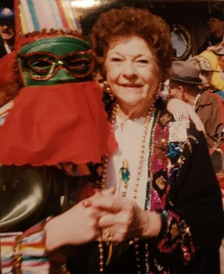 Mardi Gras from long ago