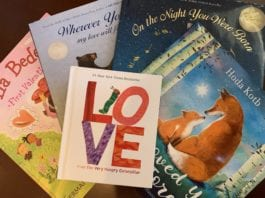 Valentines books
