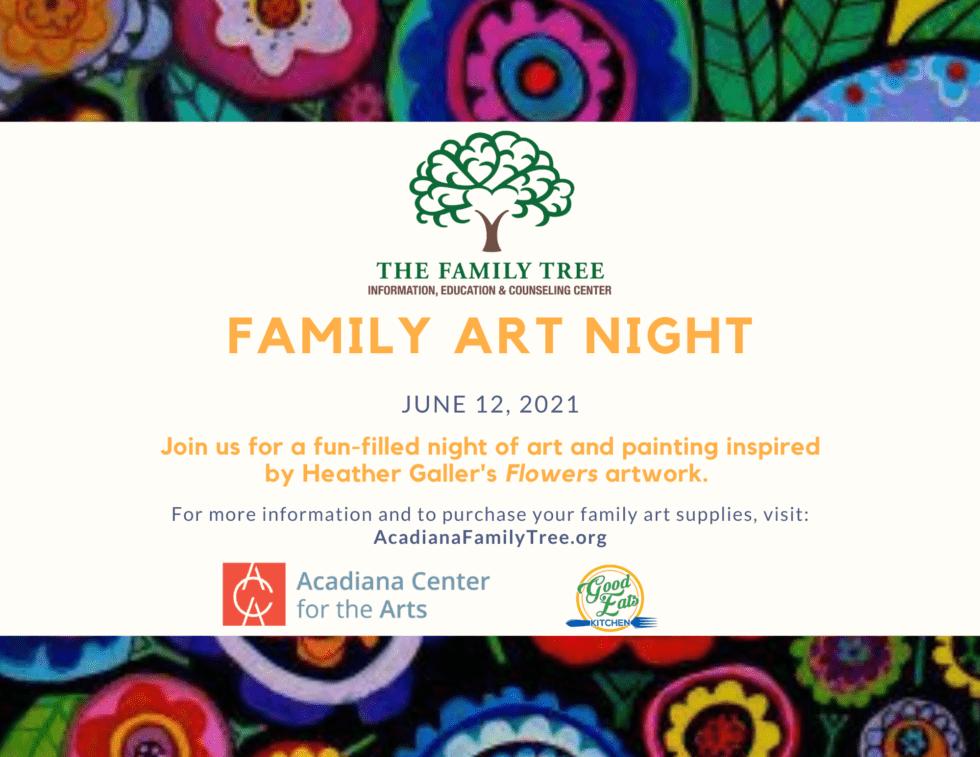 The Family Tree Family Art Night